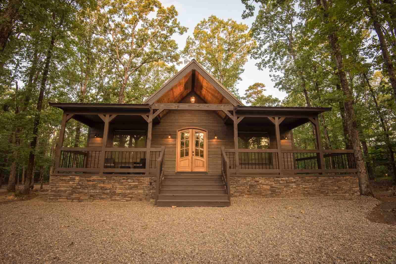 Dogwood Retreat Cabin Front