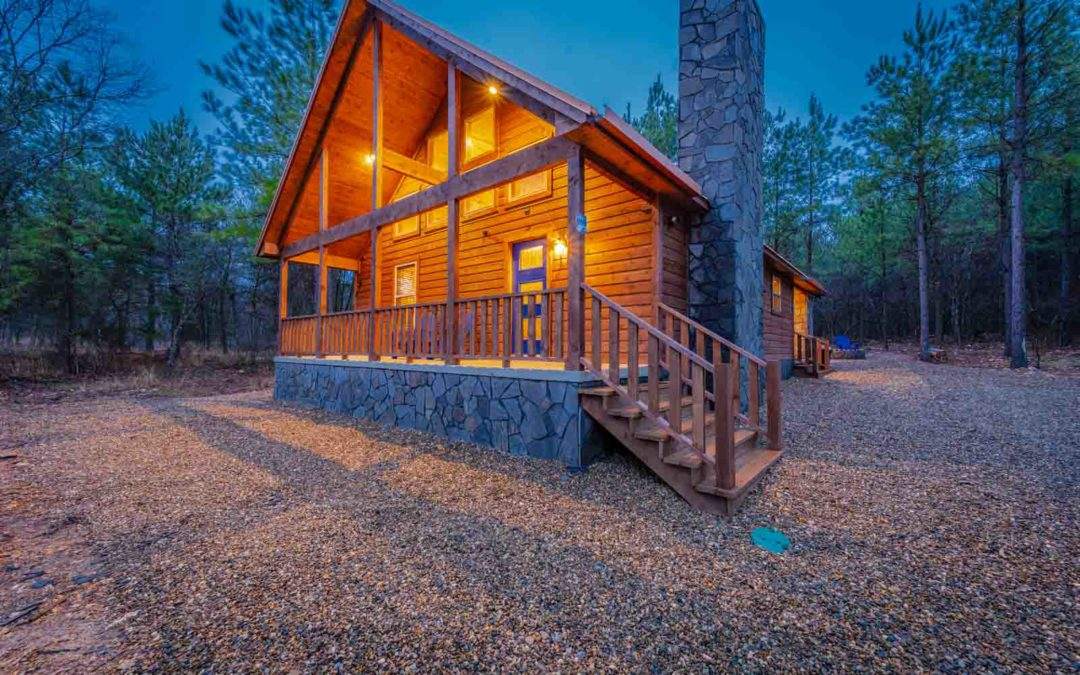 Broken Bow Rentals With Hot Tub Indoor And Outdoor Tubs