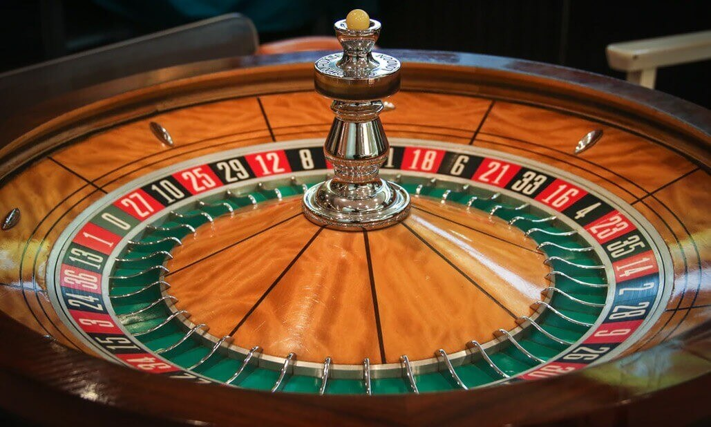 roulette table at Choctaw Casino