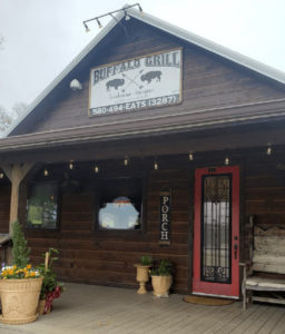 Barbeque, burgers, salads, steaks, seafood - a rustic restaurant located in Broken Bow, Oklahoma.
