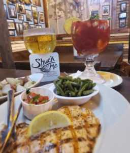 Shuck Me Seafood Lovers. A great sea food restaurant in Hochatown, OK.