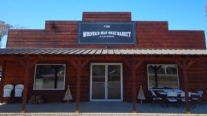 store front of Mountain Man Meat Market