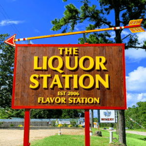 the liquor station store front